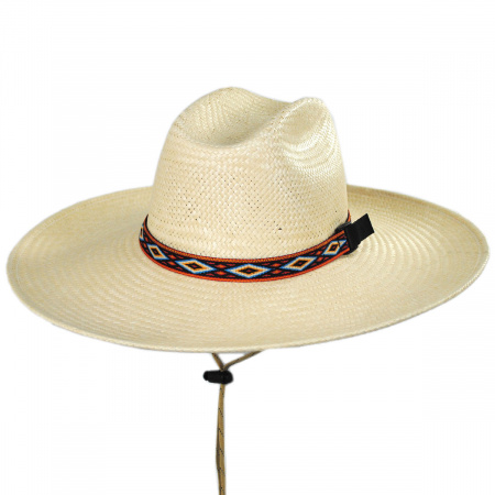 Riverz by San Francisco Hat Company Utah Lifeguard Straw Hat