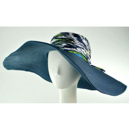San Diego Hat Company Batik Silk Crown Swinger Hat