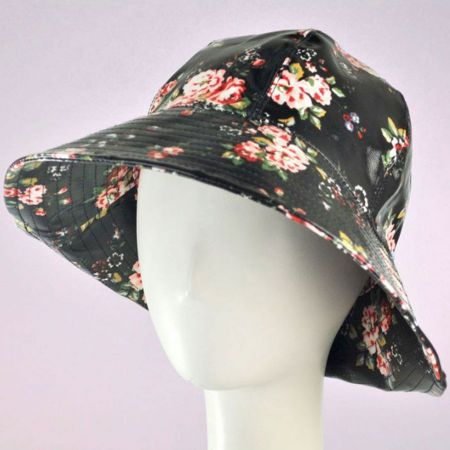 San Diego Hat Co. Floral Rain Hat