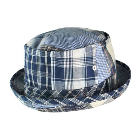San Diego Hat Co. Patchwork Bucket Hat - Kids