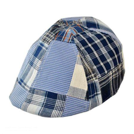San Diego Hat Company Kids' Patchwork Cotton Ivy Cap