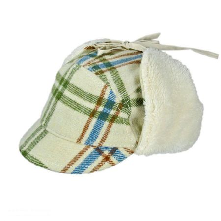 Sand Cassel Snowball Trapper Hat