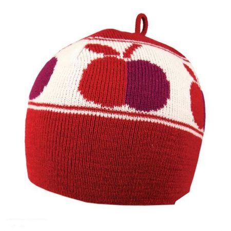 Sand Cassel Sweet Apple Kids Knit Beanie Hat