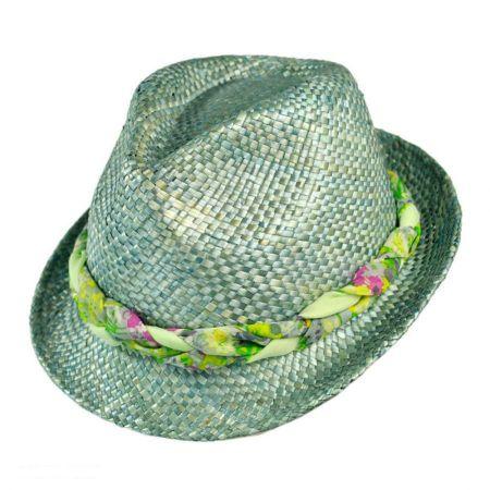 Scala Iridescent Fedora Hat