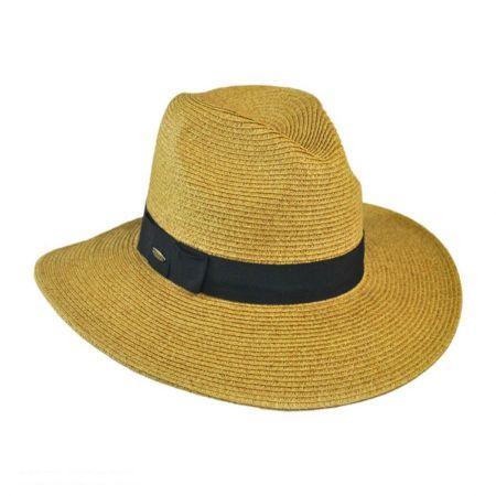Toyo Straw Braid Fedora Hat alternate view 9
