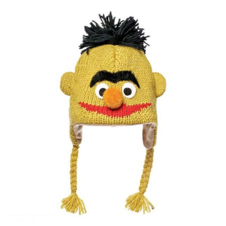 Sesame Street Bert Peruvian Beanie Hat