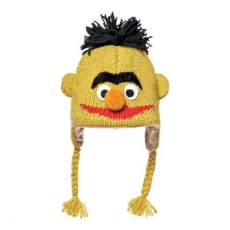 Sesame Street Bert Peruvian Beanie Hat