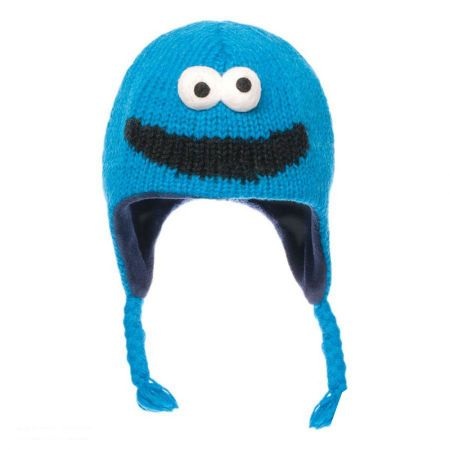 Sesame Street Cookie Monster Peruvian Beanie Hat