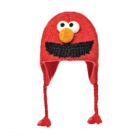 Sesame Street Elmo Peruvian Beanie Hat