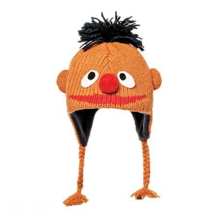 Sesame Street Ernie Peruvian Beanie Hat