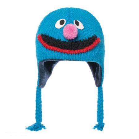 Sesame Street Grover Peruvian Beanie Hat