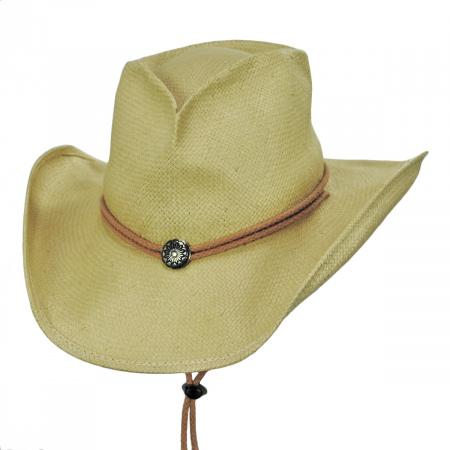 Shady Brady Runaway Bride Toyo Straw Western Hat