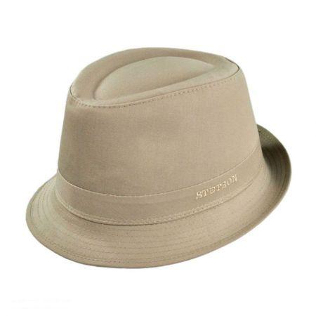 Stetson Cotton Rain Fedora Hat