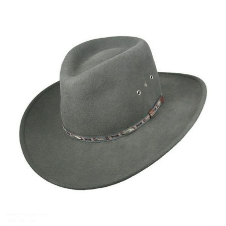 Stetson Elkhorn Crushable Wool Felt Western Hat