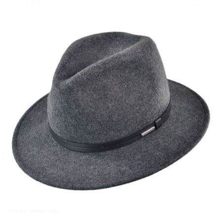 Stetson Explorer Crushable Fedora Hat