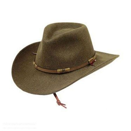 Half Dome Crushable Western Hat
