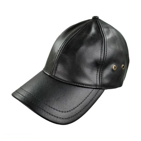 Stetson Stetson - Leather Baseball Cap