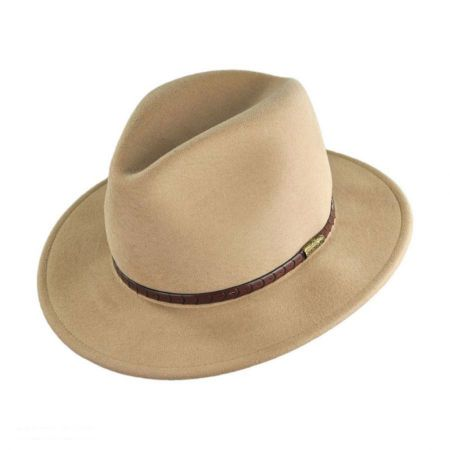 Stetson Lost Lake Crushable Safari Hat