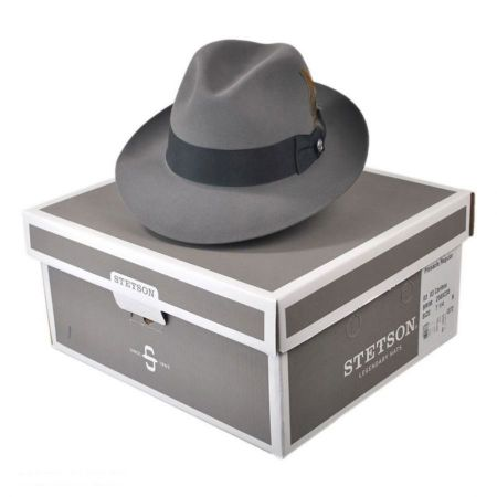 Stetson Pinnacle Beaver Fur Felt Fedora Hat