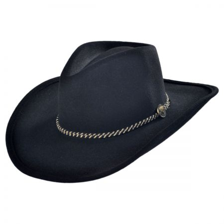 Rawhide Buffalo Fur Felt Western Hat alternate view 17