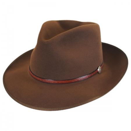 Stetson Roadster Fur Felt Vintage Fedora Hat