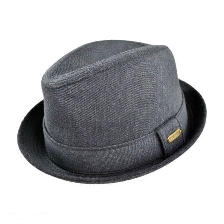 Stetson Stingy Brim Fedora Hat