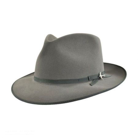c6dcbc5ba0236 Grey Fedora at Village Hat Shop