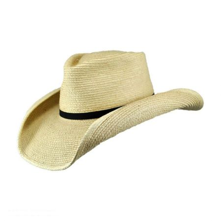 SunBody Hats Aussie Tear Drop Guatemalan Palm Leaf Straw Hat