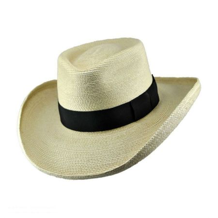 SunBody Hats Plantation Guatemalan Palm Leaf Straw Hat