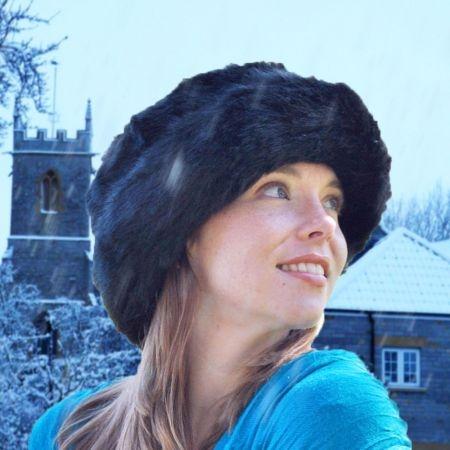 sur la tete Dakota Bretton Faux Fur Hat