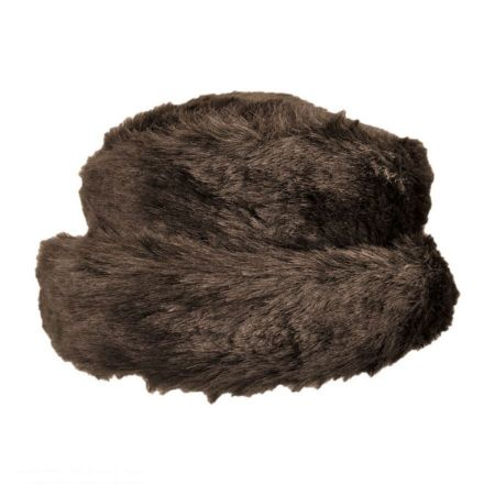 sur la tete Dakota Bretton Faux Fur Hat