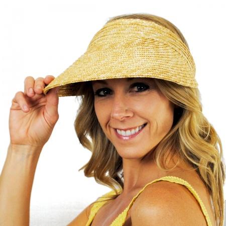 Wide Brim Sun Visors at Village Hat Shop df0ecfcba
