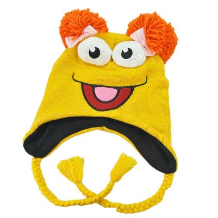 The Muppets Red Fraggle Peruvian Beanie Hat