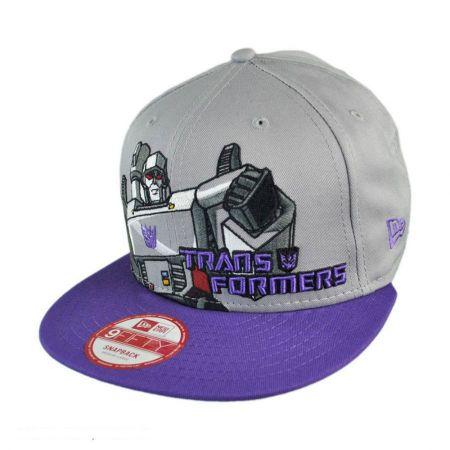 New Era Transformers Megatron Heroic Stance 9FIFTY Snapback Baseball Cap