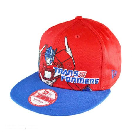 New Era Transformers Optimus Prime Heroic Stance 9FIFTY Snapback Baseball Cap