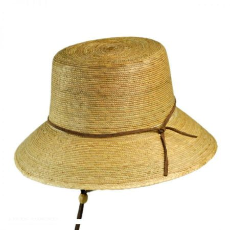 Tula Hats Abby Palm Straw Cloche Hat