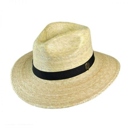 Explorer Palm Straw Safari Fedora Hat