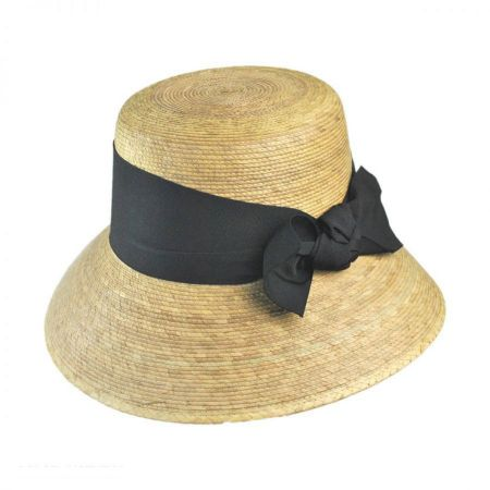 Somerset Palm Straw Cloche Hat