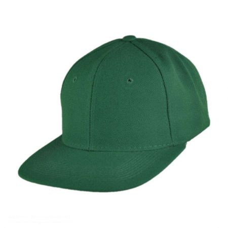 Six-Panel Snapback Baseball Cap