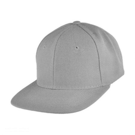 Six-Panel Snapback Baseball Cap