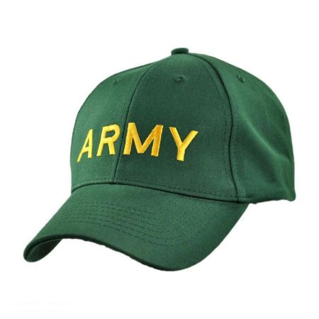 Village Hat Shop Army Snapback Baseball Cap