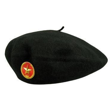 Village Hat Shop Communist Star Wool Beret