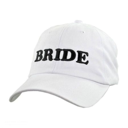 Village Hat Shop Bride Strapback Baseball Cap Dad Hat