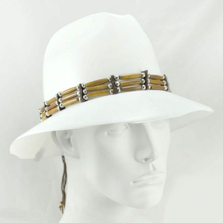 Village Hat Shop Chai Bone Hat Band