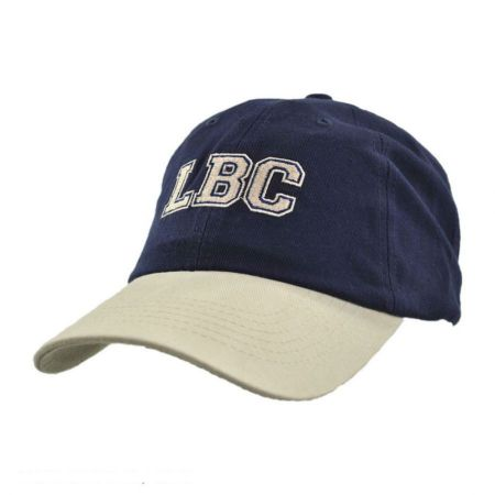 Village Hat Shop LBC Strapback Baseball Cap Dad Hat