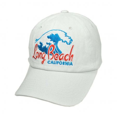 Village Hat Shop - Long Beach California Waves Baseball Cap