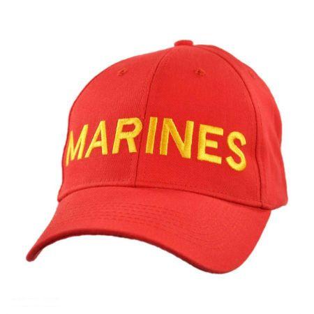 Village Hat Shop Marines Snapback Baseball Cap