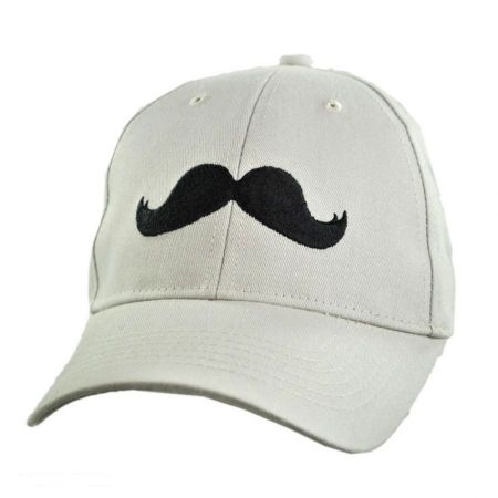 Village Hat Shop Mustache Adjustable Baseball Cap