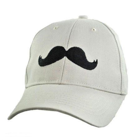 Village Hat Shop Mustache Cotton Adjustable Baseball Cap