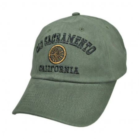 Village Hat Shop - Old Sacramento Wheel Baseball Cap